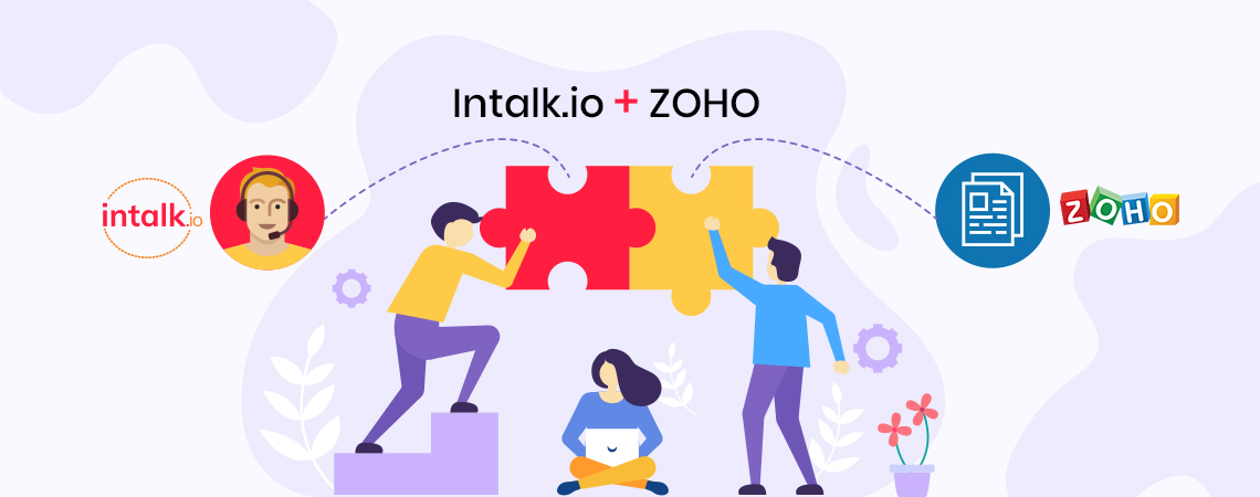 Zoho CRM Integration - Intalk.io
