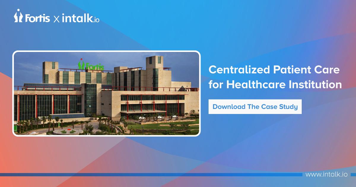 Centralized Patient Care
