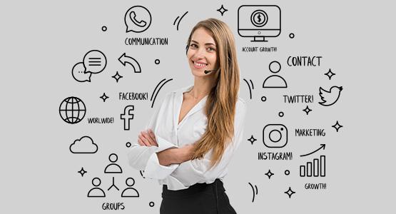 Use Social Media Platform - Intalk.io