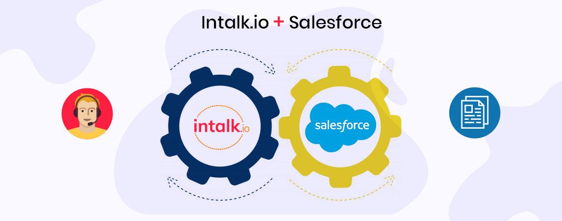 Salesforce Call Center - Intalk.io
