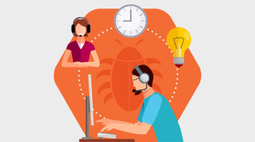 Sticky Agent feature in call center software